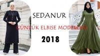 Sedanur Günlük Elbise Modelleri 2018