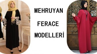 Mehruyan Ferace Modelleri 2018