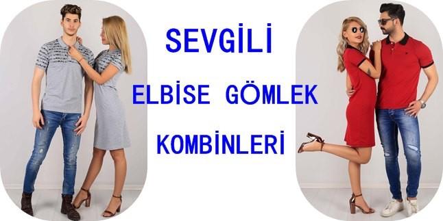 Sevgili Gömlek Elbise Kombinleri