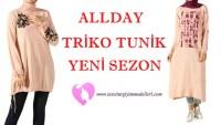 Allday Triko Tunik Modelleri 2018
