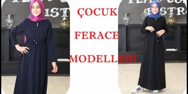 Çocuk Ferace Modelleri