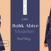 Tesettür Balık Abiye Modelleri 2019