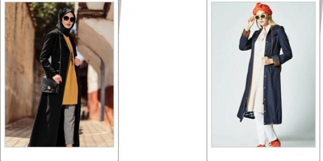 2019 Tesettür Pardesü Modelleri