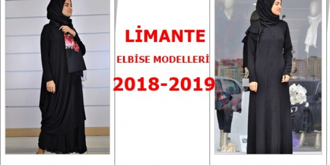 Limante Elbise Modelleri 2018