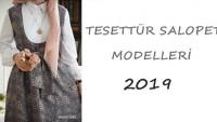 Tesettür Salopet Giyim Modelleri 2019