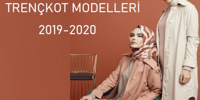 Tesettür Trençkot Modelleri 2020