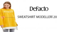 Defacto Tesettür Sweatshirt Modelleri 2020