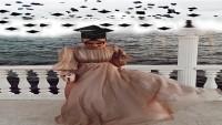 Tesettür Mezuniyet Elbise Modelleri 2020
