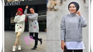 Tesettür Uzun Kazak Modelleri 2021