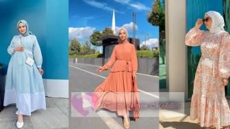 Tesettür Yazlık Elbise Modelleri 2021