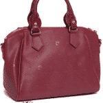 Pierre Cardin Suni Deri Baskılı Çanta Modeli-2