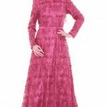 Setrms Fuşya Abiye Elbise Modeli