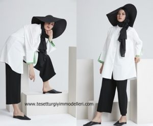 En Moda Tesettür Tunik Modelleri