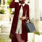 Alvina Bordo Krem Tunik Modeli