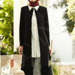 Alvina Siyah Beyaz Tunik Modeli