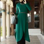 Alvina Yeşil Tunik Modeli
