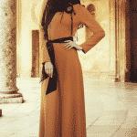 Butik Simge Elbise Hardal
