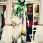 Pınar Şems Çiçek Desenli Elbise