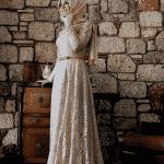Pınar Şems - Esra Dantel Abiye Pudra