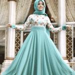 Pınar Şems - Papatya Mint Abiye