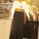 Pınar Şems - Siyah Verev etek