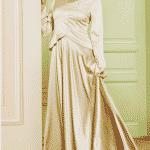 Puane Abiye Elbise Gold