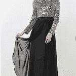 Puane Abiye Elbise Modeli