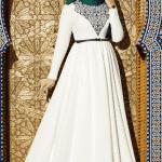 Muslima Wear Lale Desenli Elbise