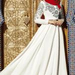 Muslima Wear Nakışlı Elbise