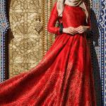 Muslima Wear Twill İpek Abiye