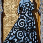 Sis Mavisi Elbise