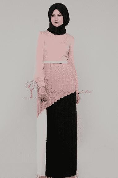Diesre Fırfırlı Elbise Modeli