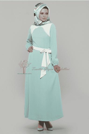 Diesre Güpürlü Elbise
