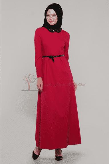 Diesre Kemerli Elbise