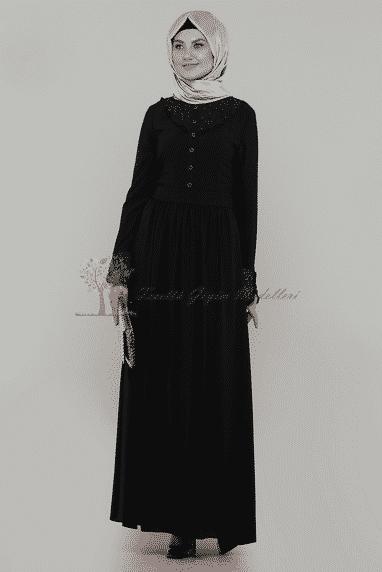 Diesre Siyah Elbise