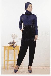 Kayra Siyah Şalvar Modeli