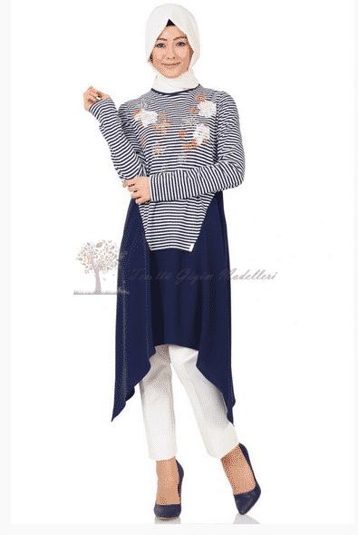 Kayra Yeni Sezon Çiçek Motifli Tunik Modeli