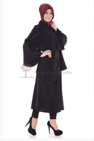 Kayra Yeni Sezon Düğmeli Tunik Modeli