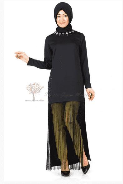 Kayra Yeni Sezon Püsküllü Tunik Modeli