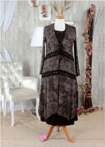 Alvina Büyük Beden Elbise