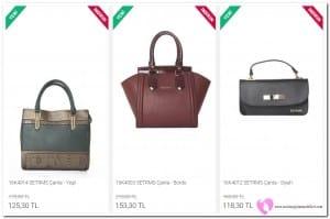 Deri Kulplu Çanta Fiyatları