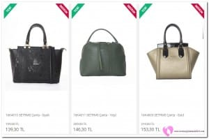 Setrms Çanta Fiyatları