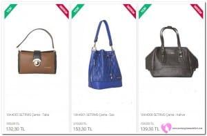 Setrms Büzgülü Çanta Fiyatları