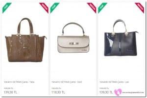 Setrms Deri Çanta Fiyatları