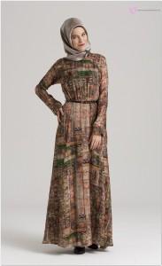 Tesettür Elbise Nihan Markası