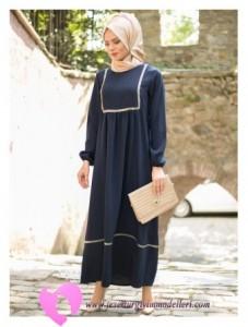Modanisa Büyük Beden Elbise Modelleri-10