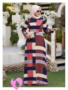 Modanisa Büyük Beden Elbise Modelleri-18