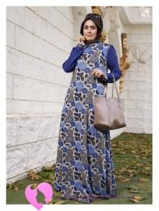 Modanisa Büyük Beden Elbise Modelleri-32