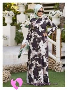 Modanisa Büyük Beden Elbise Modelleri-51
