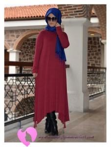 Modanisa Büyük Beden Elbise Modelleri-75